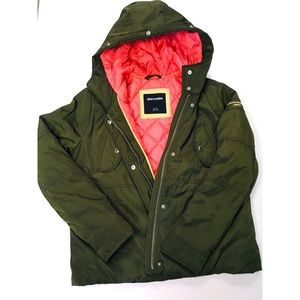 Abercrombie Green Parka